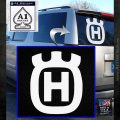 Husqvarna Decal Sticker SQ White Emblem 120x120