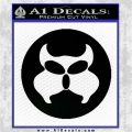 Inspector Gadget MAD Decal Sticker CR Black Logo Emblem 120x120