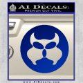 Inspector Gadget MAD Decal Sticker CR Blue Vinyl 120x120