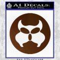 Inspector Gadget MAD Decal Sticker CR Brown Vinyl 120x120