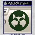 Inspector Gadget MAD Decal Sticker CR Dark Green Vinyl 120x120