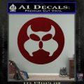 Inspector Gadget MAD Decal Sticker CR Dark Red Vinyl 120x120