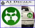 Inspector Gadget MAD Decal Sticker CR Green Vinyl 120x97