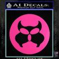 Inspector Gadget MAD Decal Sticker CR Hot Pink Vinyl 120x120