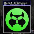Inspector Gadget MAD Decal Sticker CR Lime Green Vinyl 120x120