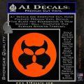 Inspector Gadget MAD Decal Sticker CR Orange Vinyl Emblem 120x120