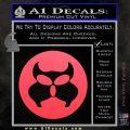 Inspector Gadget MAD Decal Sticker CR Pink Vinyl Emblem 120x120