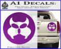 Inspector Gadget MAD Decal Sticker CR Purple Vinyl 120x97
