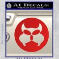 Inspector Gadget MAD Decal Sticker CR Red Vinyl 120x120