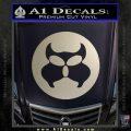 Inspector Gadget MAD Decal Sticker CR Silver Vinyl 120x120