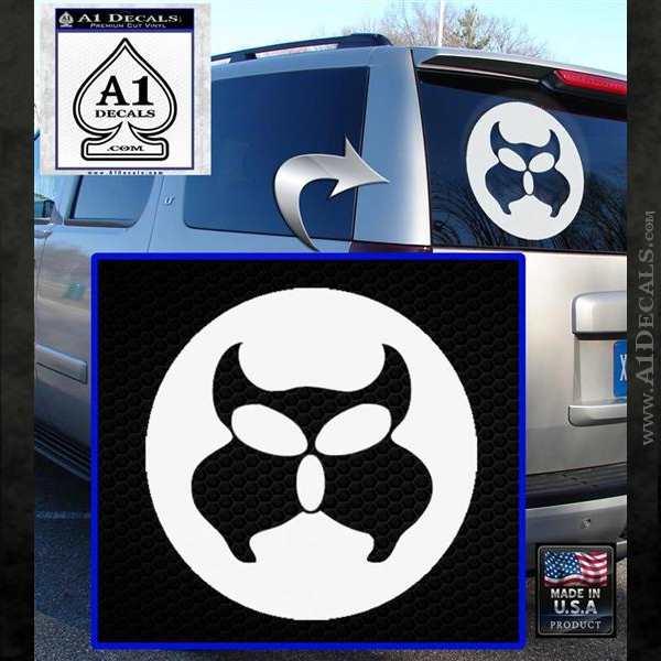 James Bond 007 White SCI-FI//Comics//Games Automotive Decal//Bumper Sticker