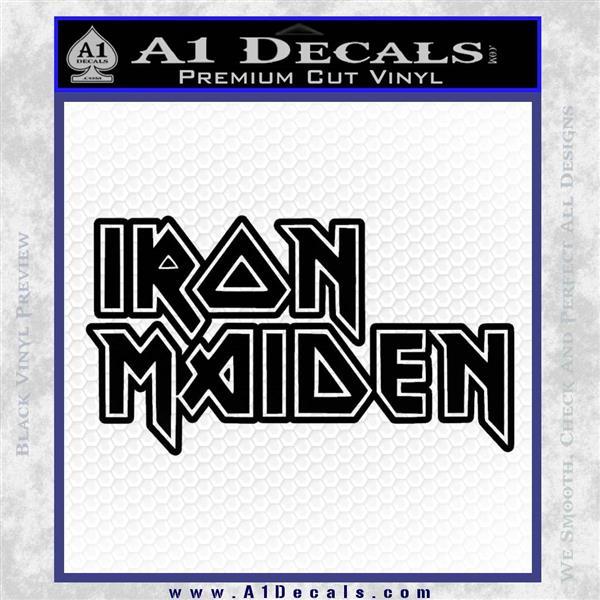 Iron Maiden Decal Sticker Stacked 187 A1 Decals