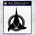 Klingon Supreme Commander Decal Sticker Star Trek Black Logo Emblem 120x120