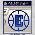 LA Clippers New Decal Sticker Blue Vinyl 120x120