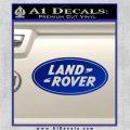 Land Rover Decal Sticker Blue Vinyl 120x120