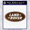 Land Rover Decal Sticker Brown Vinyl 120x120