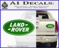 Land Rover Decal Sticker Green Vinyl 120x97