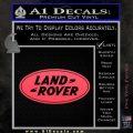 Land Rover Decal Sticker Pink Vinyl Emblem 120x120