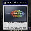 Land Rover Decal Sticker Sparkle Glitter Vinyl 120x120