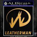 Leatherman Decal Sticker ST Metallic Gold Vinyl Vinyl 120x120