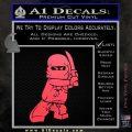 Lego Ninja Ninjago DLB Decal Sticker Pink Vinyl Emblem 120x120