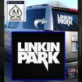 Linkin Park TX Decal Sticker White Emblem 120x120