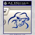 Little Mermaid F4 Decal Sticker Blue Vinyl 120x120