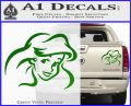 Little Mermaid F4 Decal Sticker Green Vinyl 120x97