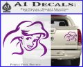 Little Mermaid F4 Decal Sticker Purple Vinyl 120x97