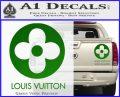 Louis Vuitton CR Decal Sticker Green Vinyl 120x97