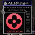 Louis Vuitton CR Decal Sticker Pink Vinyl Emblem 120x120