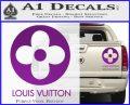 Louis Vuitton CR Decal Sticker Purple Vinyl 120x97