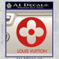 Louis Vuitton CR Decal Sticker Red Vinyl 120x120