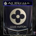 Louis Vuitton CR Decal Sticker Silver Vinyl 120x120