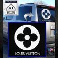 Louis Vuitton CR Decal Sticker White Emblem 120x120