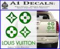 Louis Vuitton D4 Decal Set Sticker Green Vinyl 120x97