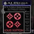 Louis Vuitton D4 Decal Set Sticker Pink Vinyl Emblem 120x120