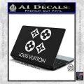 Louis Vuitton D4 Decal Set Sticker White Vinyl Laptop 120x120