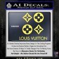 Louis Vuitton D4 Decal Set Sticker Yelllow Vinyl 120x120