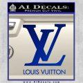 Louis Vuitton Logo D1 Decal Sticker Blue Vinyl 120x120