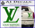 Louis Vuitton Logo D1 Decal Sticker Green Vinyl 120x97