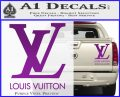Louis Vuitton Logo D1 Decal Sticker Purple Vinyl 120x97