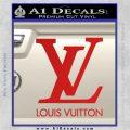 Louis Vuitton Logo D1 Decal Sticker Red Vinyl 120x120