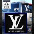 Louis Vuitton Logo D1 Decal Sticker White Emblem 120x120