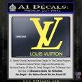 Louis Vuitton Logo D1 Decal Sticker Yelllow Vinyl 120x120