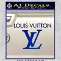 Louis Vuitton Logo D2 Decal Sticker Blue Vinyl 120x120