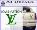 Louis Vuitton Logo D2 Decal Sticker Green Vinyl 120x97