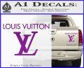 Louis Vuitton Logo D2 Decal Sticker Purple Vinyl 120x97