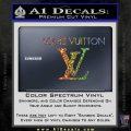 Louis Vuitton Logo D2 Decal Sticker Sparkle Glitter Vinyl 120x120