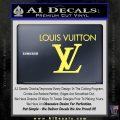 Louis Vuitton Logo D2 Decal Sticker Yelllow Vinyl 120x120